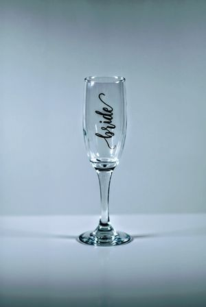 12 Bridal or Bachelorette Champagne Flutes for Sale in Columbus, OH