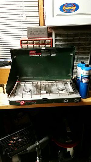 Coleman propane two burner stove for Sale in Riverside, CA