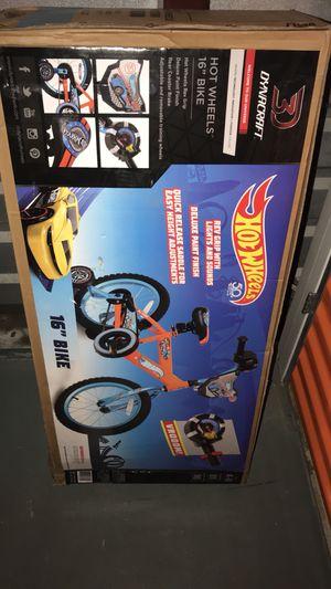 """Brand new hot wheels 16"""" bike for kids for Sale in Chandler, AZ"""