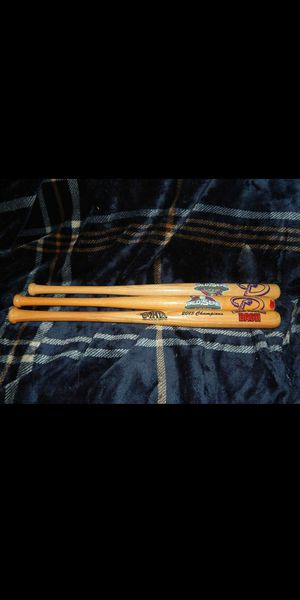 3 Mini championship Baseball Bats for Sale in Las Vegas, NV