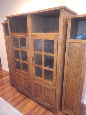 Entertainment cabinet for Sale in Lacey, WA