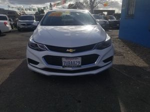 2016 CHEVY CRUZE LT AUTOMATIC TRANSMISSION . ZERO TO LOW DOWNPAYMENT REQUIRED. for Sale in Modesto, CA