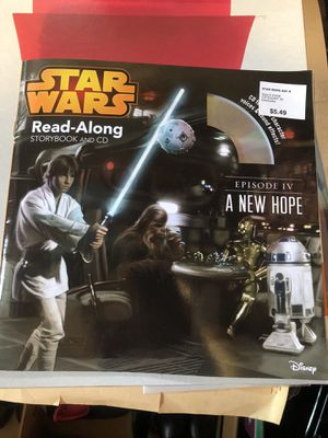 Star War read-a-long book for Sale in West Chazy, NY