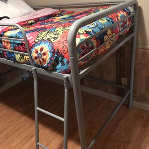 Loft Bed (frame only) Twin Size for Sale in St. Louis, MO
