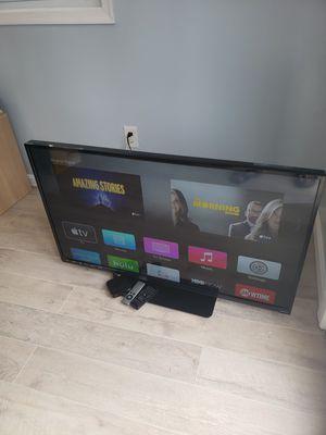"""47"""" Vizio TV and Apple TV for Sale in Falls Church, VA"""