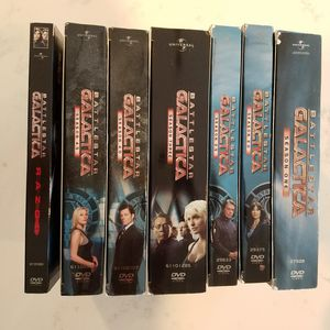 Battlestar Galactica DVD lot Seasons 1-4 and Extended Razor for Sale in Chevy Chase, MD