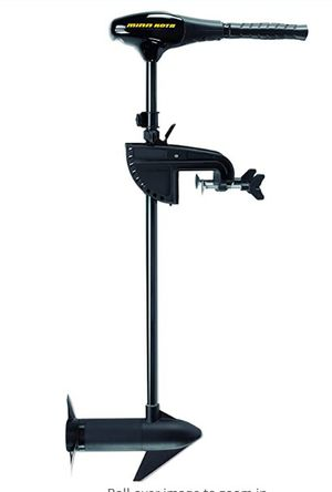 Mini kota transom-mount motor with battery and case for Sale in Shrewsbury, MA