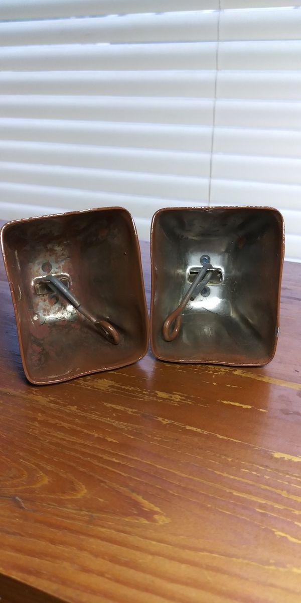 2 Metal Cow Bells