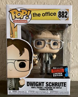 NYCC 2019 Amazon Shared Exclusive The Office Dwight Schrute Funko Pop for Sale in El Cajon, CA