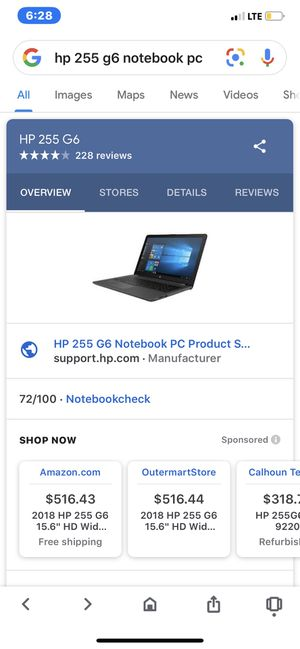Hp laptop for Sale in Wingina, VA