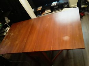Antique folding table for Sale in Tampa, FL