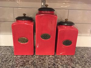 Kitchen canisters for Sale in Puyallup, WA