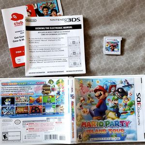 Mario Party Island Tour for Nintendo 3DS 3 DS 3D s complete for Sale in Holland, PA
