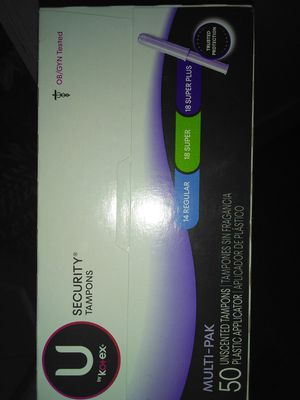 50 pack kotex tampons for Sale in Murfreesboro, TN