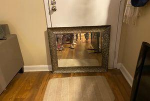 Beveled mirror in frame for Sale in Nashville, TN