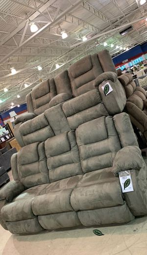 💲39 Down Payment 🍃 SPECIAL] McCade Cobblestone Reclining Living Room Set 238 for Sale in Jessup, MD