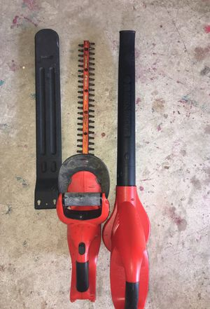 Black and decker cordless Garden yard tools for Sale in Pompano Beach, FL