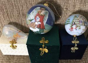 LI BIEN Christmas ornaments (set of 3) for Sale in Carrollton, TX