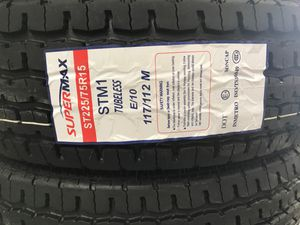 New trailer tire ST225/75R15-10ply for Sale in Pasadena, TX
