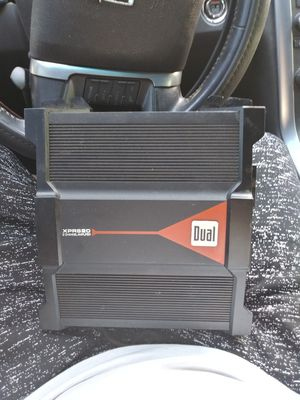 Dual amplifier for Sale in Austin, TX
