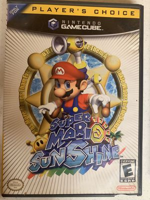 Super Mario Sunshine GameCube for Sale in Hampton, IA