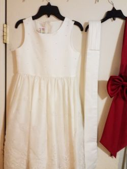 Girls Flower Dress/ Communion Dress Size 12 for Sale in Everett,  WA