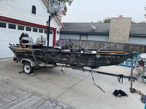 Fishing Boat and Trailer for Sale in Hutto, TX