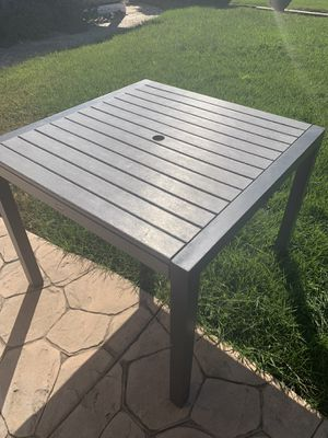 Outdoor umbrella table for Sale in Vacaville, CA