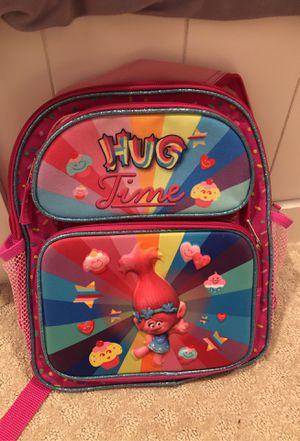 Trolls backpack excellent condition for Sale in Rancho Cucamonga, CA