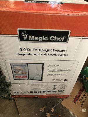 Magic chef 3.0 cu. ft upright freezer for Sale in Columbus, OH