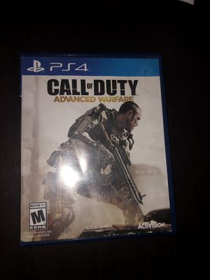 call of duty advanced warfare ps4 for Sale in Fresno, CA