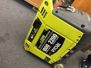 Ryobi Generator RYi2200 for Sale in Aurora, CO