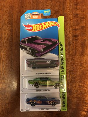Hot Wheels Workshop set of 3 for Sale for sale  Federal Way, WA