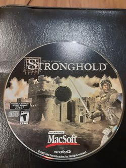 STRONGHOLD Mac game for Sale in Washington,  DC