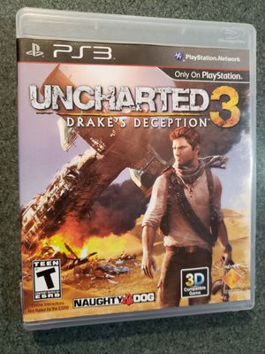Uncharted 3: Drake's Deception (Sony PlayStation 3, 2011) for Sale in Chambersburg, PA
