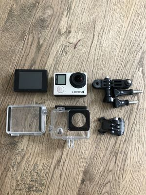 GoPro HERO 4 Black with screen and waterproof case. for Sale in New York, NY