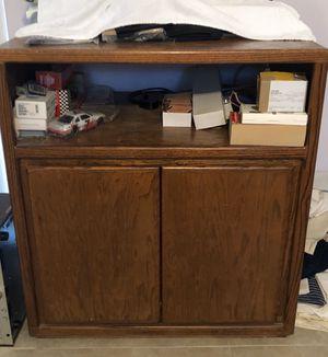 Solid Oak Wood Big Cabinet for Sale in Fort Lauderdale, FL