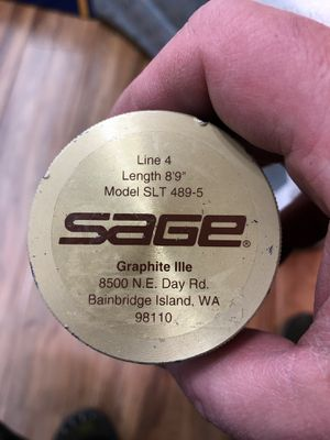 """Sage 8'9"""" Graphite IIIe Fly Fishing Rod for Sale in Mesa, AZ"""