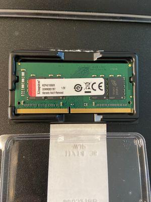 Kingston 8GB DDR-4 Model KCP421SS8/8 for Sale in Santa Ana, CA