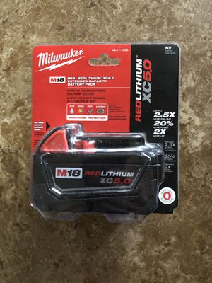 Milwaukee battery for Sale in Phoenix, AZ