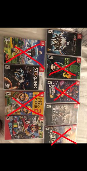 Switch games for sale for Sale in Glendora, CA