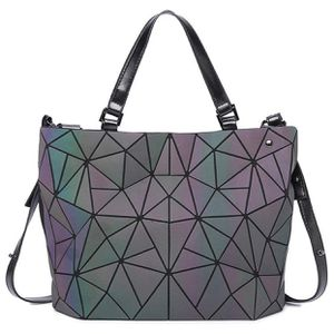 Luminous Geometric Purses and Handbags Women Tote Bag Holographich Flash Reflactive Crossbody Bag Backpacks for Sale in University City, MO