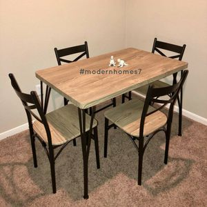 Wooden dining table with 4 chairs for Sale in La Palma, CA