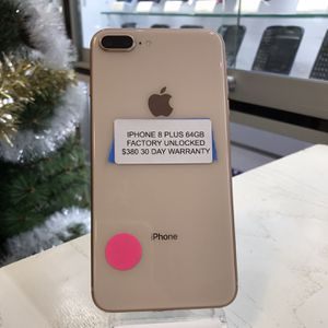 iPhone 8+ 64GB Factory Unlocked for Sale in Santa Ana, CA