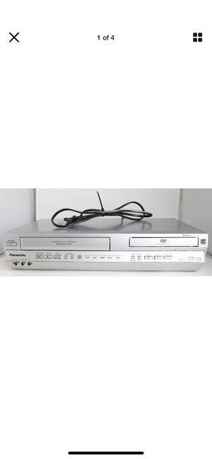 Panasonic PV-D4735S DVD/VCR 4-Head Hi-Fi Combo Omnivision VHS Recorder W/remote for Sale in Whittier, CA