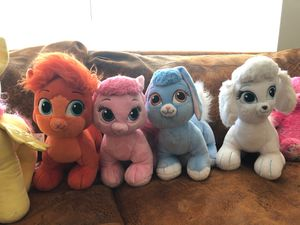 Build a bear 🐻 Princess Palace Pets COLLECTION . Stuffed animal toy $15 each for Sale in Alexandria, VA
