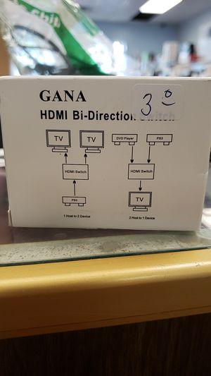 New in box hdmi bi-switch for Sale in Newark, OH