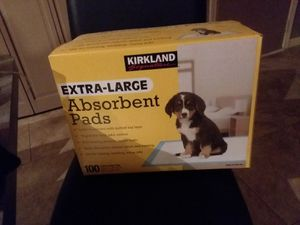 Kirkland extra large absorbent pads for Sale in Superior Charter Township, MI