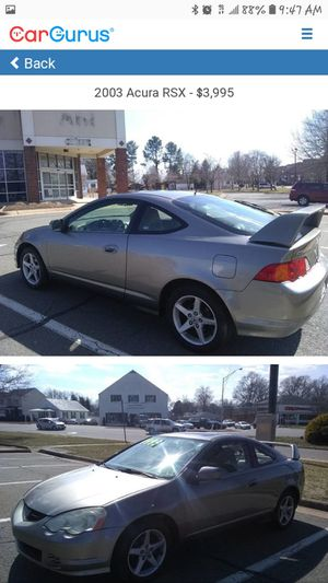 2004 acura rsx for Sale in Alexandria, VA