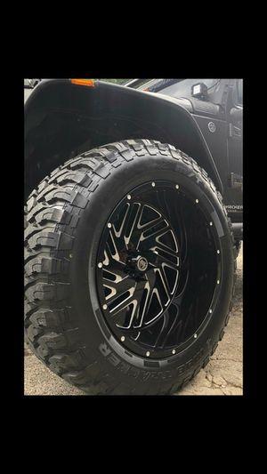 RINES 22X12 Y LLANTAS 33 1250 22 for Sale in Phoenix, AZ